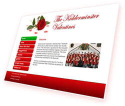 Kidderminster Valentines website by womweb